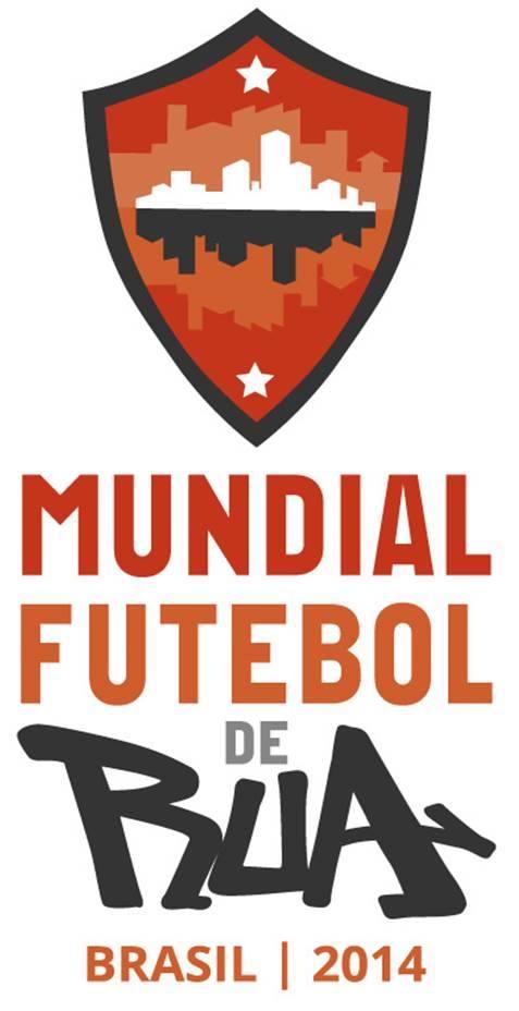Logo Mundial Brasil 2014 Fútbol Callejero Futebol de Rúa