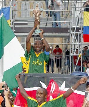 Mundial Fútbol Callejero Alemania 2006 - Kenia campeón