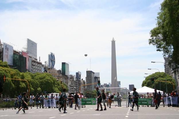 Obelisco Fútbol Callejero